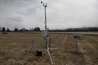 Enviroweather weather station at Alpine Twp / Comstock Park, MI