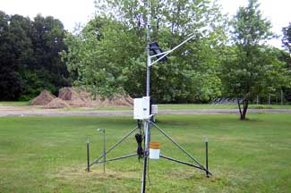 Enviroweather weather station at Albion, MI