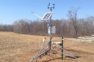 Enviroweather weather station at Allegan, MI