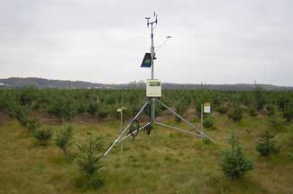 Enviroweather weather station at Arlene, MI