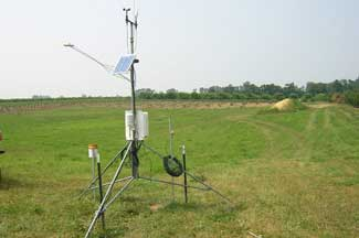 Enviroweather weather station at Bainbridge / Watervliet, MI