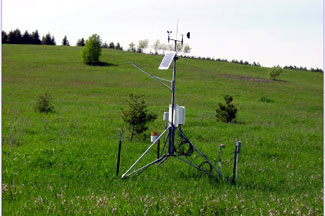 Enviroweather weather station at Bear Lake, MI