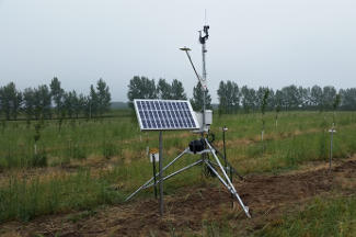 Enviroweather weather station at Benona / Shelby, MI