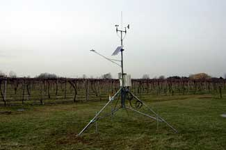 Enviroweather weather station at Berrien Springs, MI