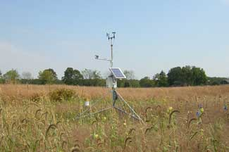 Enviroweather weather station at Cassopolis, MI