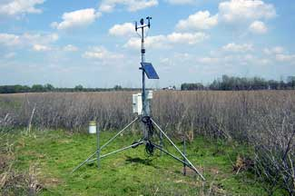 Enviroweather weather station at Coldwater, MI