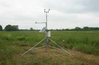Enviroweather weather station at Charlotte, MI