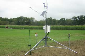 Enviroweather weather station at Commerce Township, MI