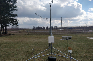 Enviroweather weather station at Conklin / Wright, MI
