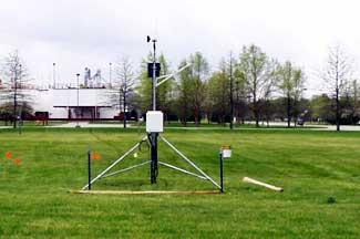 Enviroweather weather station at Constantine, MI