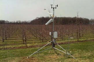 Enviroweather weather station at Dowagiac, MI