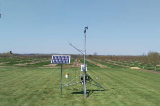 Enviroweather weather station at Elbridge / Hart, MI