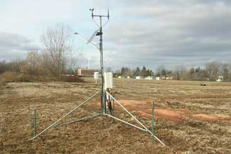 Enviroweather weather station at Emmett, MI