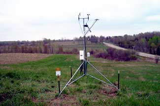 Enviroweather weather station at Eastport, MI