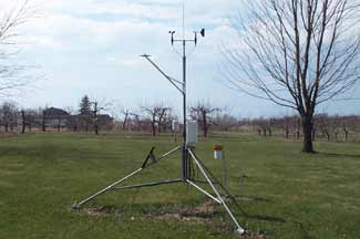 Enviroweather weather station at Fennville, MI