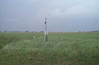 Enviroweather weather station at Fairgrove, MI
