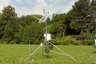 Enviro-weather weather station at Flint, Michigan