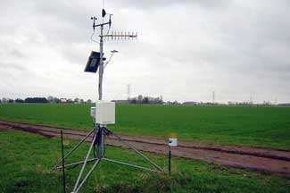 Enviroweather weather station at Freeland, MI