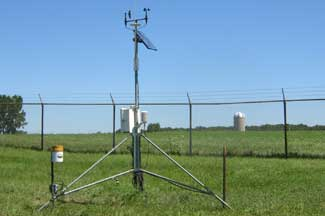 Enviroweather weather station at Fremont, MI
