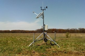 Enviroweather weather station at Gaylord, MI