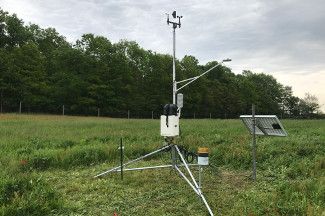 Enviroweather weather station at Grant, MI