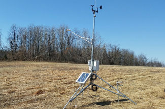 Enviroweather weather station at Haslett, MI