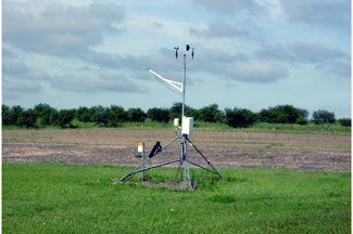 Enviroweather weather station at Hart, MI
