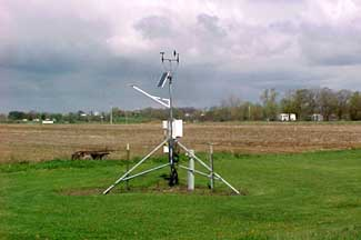 Enviroweather weather station at Hudsonville, MI