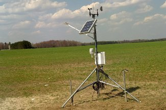 Enviro-weather weather station at Kalkaska, MI