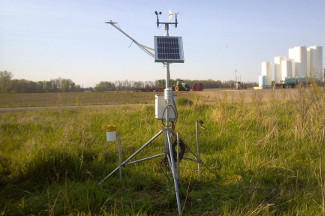 Enviroweather weather station at Kinde, MI