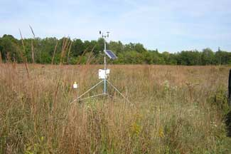 Enviroweather weather station at Kalamazoo, MI