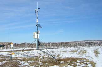 Enviroweather weather station at Lawton, MI