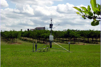 Enviroweather weather station at Ludington, MI
