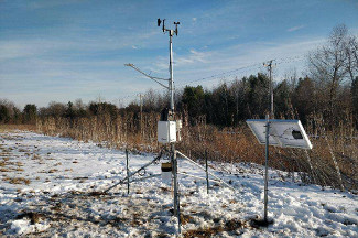 Enviroweather weather station at Lapeer, MI