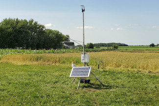 Enviroweather weather station at Marshfield, WI