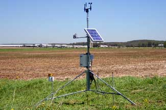 Enviro-weather weather station at McBain, Michigan