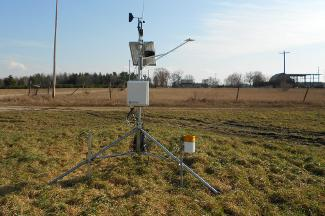 Enviro-weather weather station at Mecosta, MI