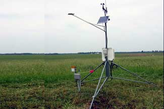 Enviroweather weather station at Mendon, MI