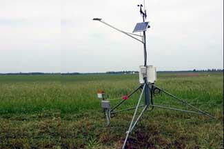 Enviroweather weather station at Mendon, MI