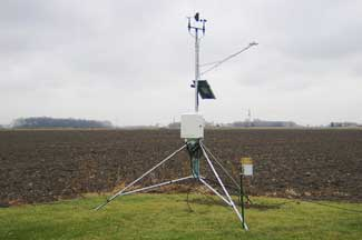 Enviroweather weather station at Munger, MI