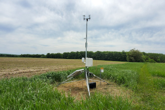 Enviroweather weather station at Petoskey (NCMC), MI