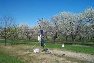 Enviroweather weather station at Traverse City (NWMHRS), MI