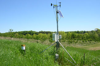 Enviroweather weather station at Old Mission, MI