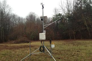 Enviroweather weather station at Oshtemo, MI