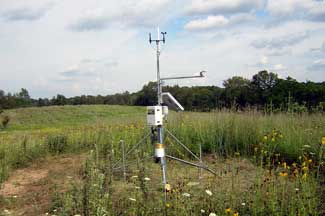 Enviroweather weather station at Hastings, MI