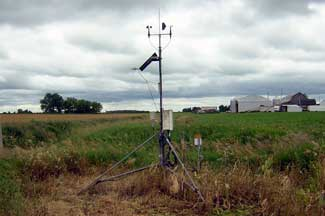 Enviroweather weather station at Petersburg (1999 - 2017), MI