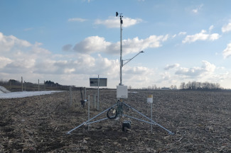 Enviroweather weather station at Reeman / Fremont - West, MI