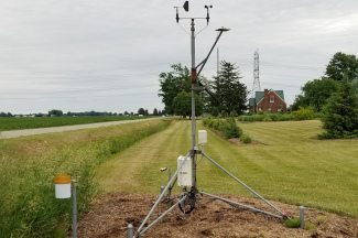 Enviroweather weather station at Richville / Frankenmuth, MI