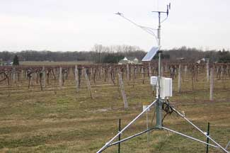 Enviroweather weather station at Scottdale, MI