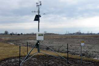 Enviroweather weather station at Sandusky, MI